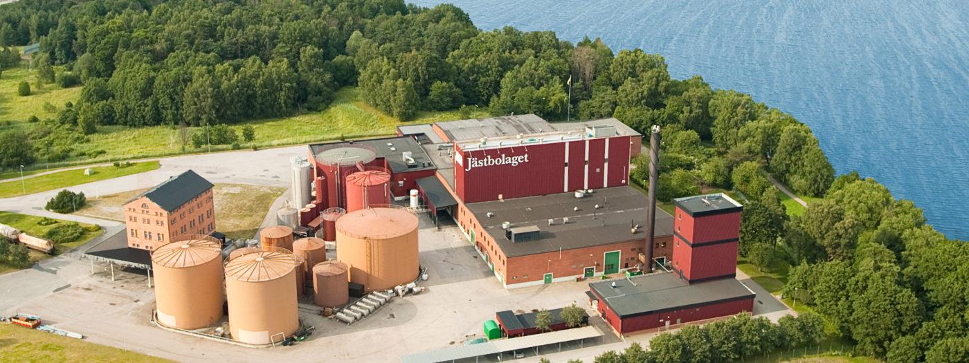 Jästbolagets produktionsanläggning i Rotebro