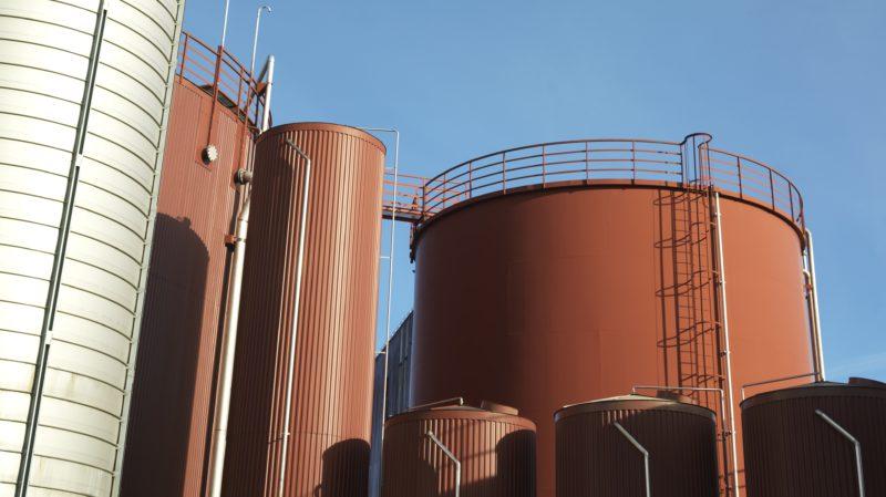 Jästbolagets silos